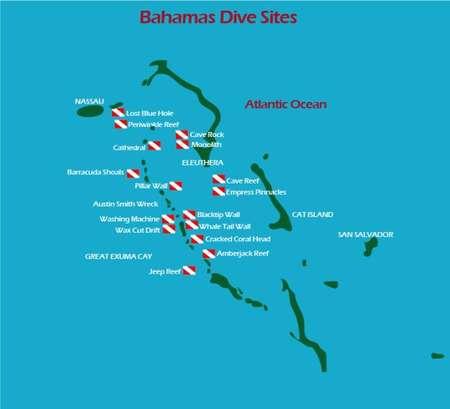 Tauchplätze Bahamas