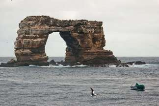 Darwin's Arch northern Galapagos islands