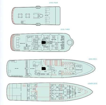 Deck Plan Galapagos Aggressor