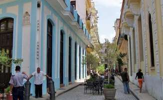 Havanna the capital of Cuba and its colonial streets