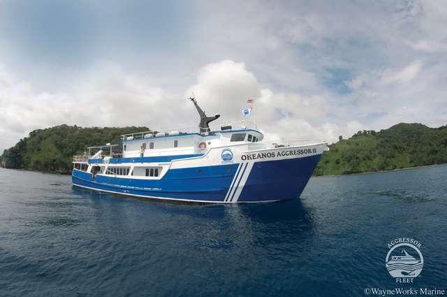 Okeanos Aggressor II - Cocos Tauchreisen