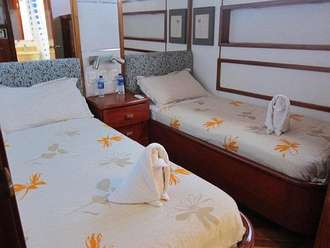 Twin Bed cabin Humboldt Explorer